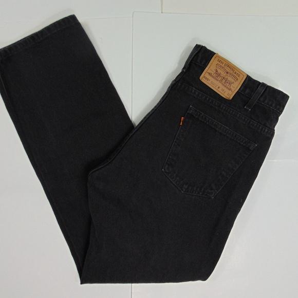 9386021f1f5 Levi's Jeans | Vintage Levis 505 37 X 32 Orange Tab Black | Poshmark